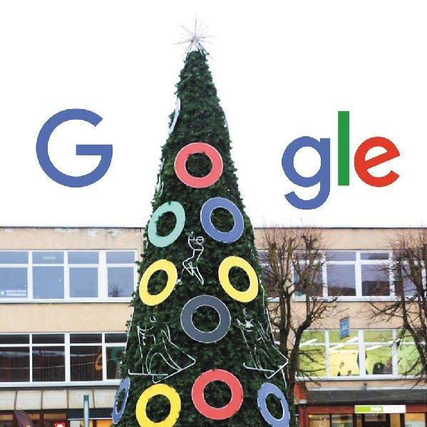 Internete jau plinta ir tokia Alytaus eglės - GooglEglės - versija...